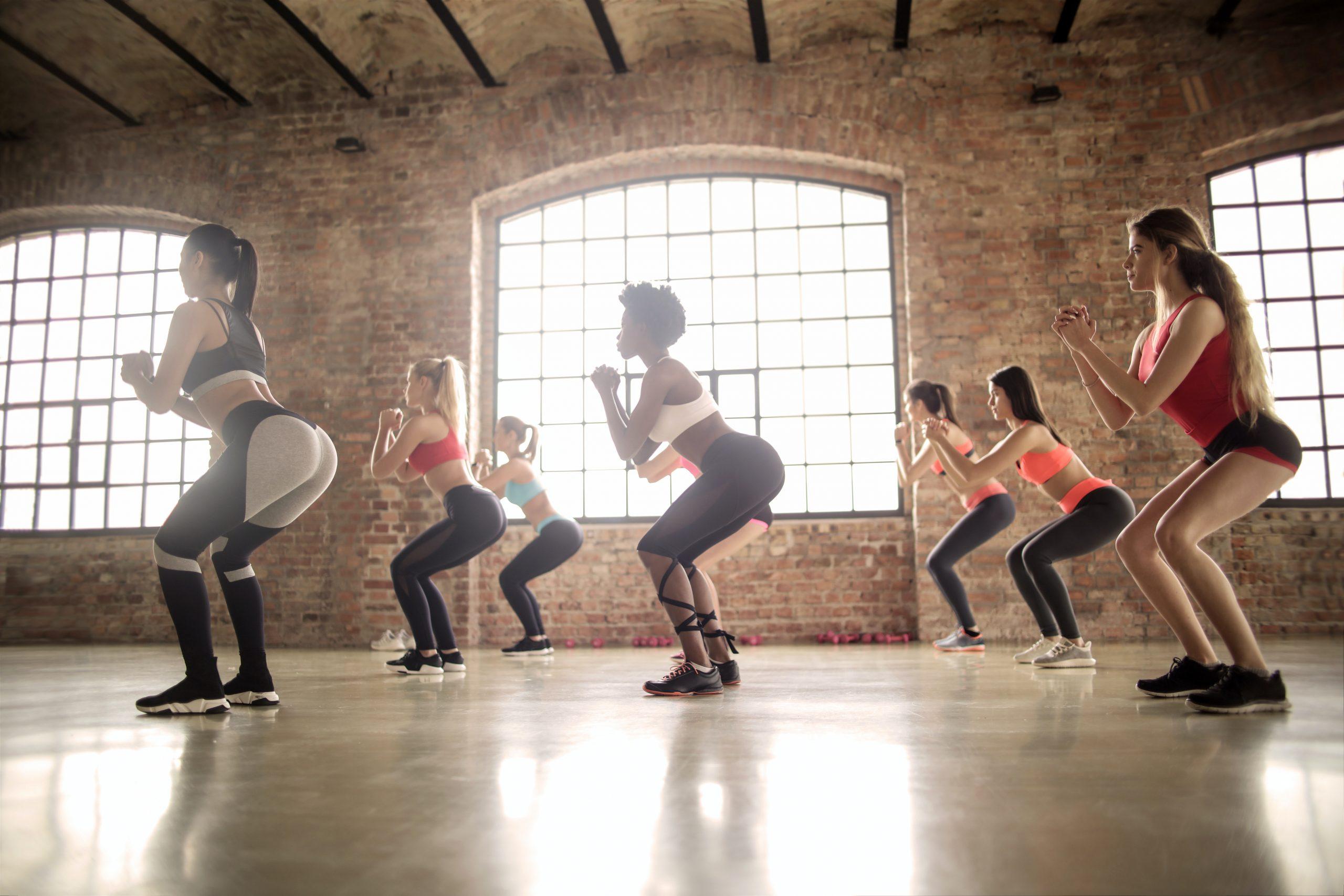 Fit mit Sarah Fitnesskurs Poworkout